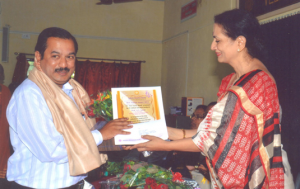 Best Teacher of award to Prof. U.S. Surve